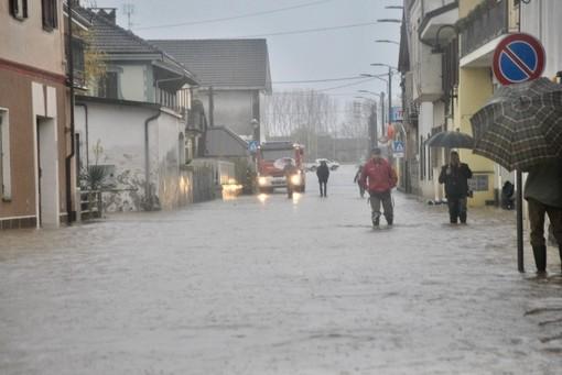 L'alluvione a Cardè, foto Targataocn