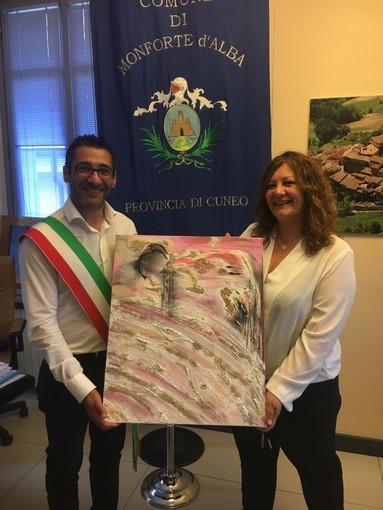 Daniela Delfina Dell'Orto e il sindaco
