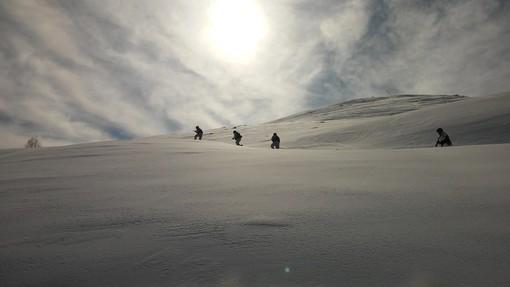 A Entracque l'esercitazione in ambiente invernale dell'Unione Nazionale Ufficiali in Congedo d'Italia