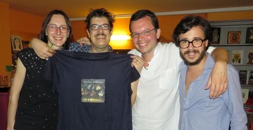 Da sinistra Elisabetta Marchetti, Carlo Gabardini, Fausto Bailo e Nicola Brizio