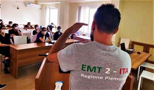 I sanitari dell'EMT2 in missione in Armenia
