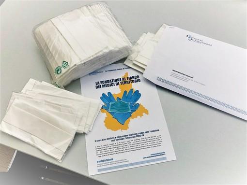 Dalla Fondazione Nuovo Ospedale kit di mascherine anche per i 120 medici di famiglia e pediatri del territorio