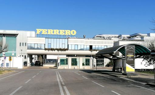 L'ingresso dello stabilimento Ferrero di Alba
