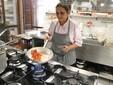 La cuoca Aneta al lavoro