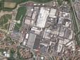 Una città nella città: nella vista da satellite di Google lo stabilimento Ferrero di Alba