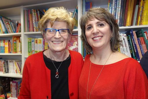 Gabriella Del Treste e Silvia Gullino al Caffè Letterario nel febbraio 2020