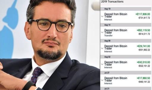 Nella pagina web incriminata diverse immagini del ceo Ferrero, accompagnate dai risultati dei suoi supposti investimenti