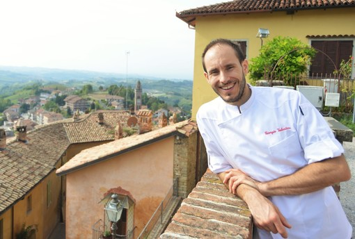 Lo chef pasticcere Giorgio Valentino