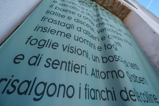 L'installazione artistica nata dall'opera di Favetto