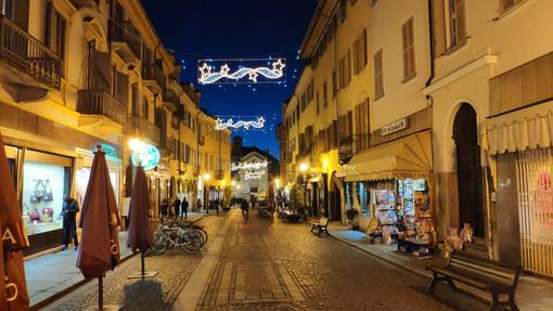 Bra: la città si illumina in attesa del Natale