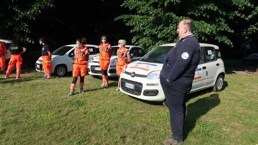 Clavesana: dal CAI, tramite ANPAS, una nuova automobile per il gruppo volontari del soccorso