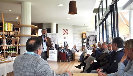 L'incontro tenutosi ieri nella sede castagnitese dei Vignaioli Piemontesi
