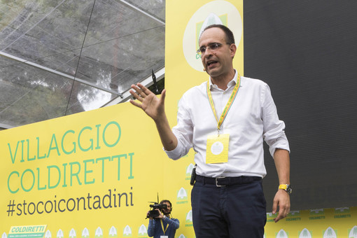 Roberto Moncalvo, Delegato Confederale di Coldiretti Cuneo