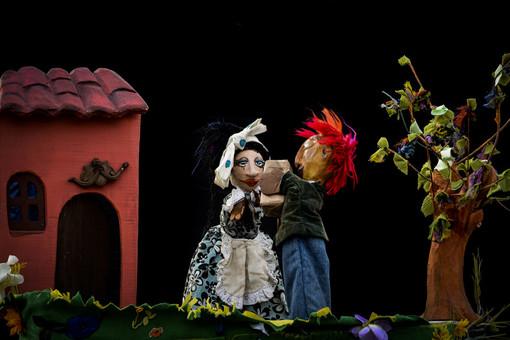 Il 26 gennaio Burattinarte per la prima volta sul palco di Grinzane Cavour