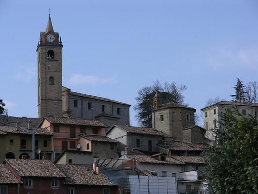 Una veduta di Monforte d'Alba