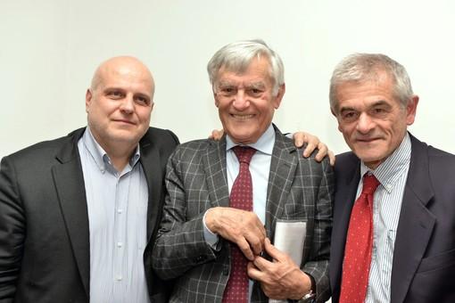 Maurizio Marello, Olindo Cervella e Sergio Chiamparino