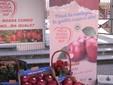 Un'iniziativa di promozione della Mela Rossa Cuneo Igp