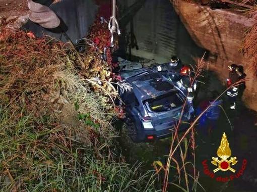 L'incidente stradale a Monticello d'Alba