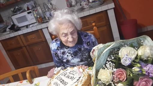 Erminia Bianchini, il 23 aprile scorso fa aveva festeggiato il suo 112° compleanno