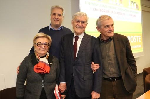 Bruna Sibille, Federico Borgna, Olindo Cervella e Sergio Chiamparino (Foto Murialdo)