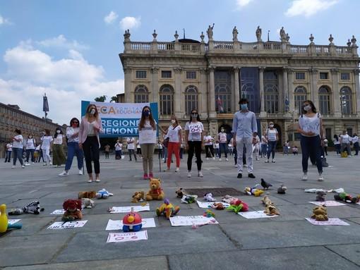 La protesta degli insegnanti della scuola paritaria, giovedì a Torino