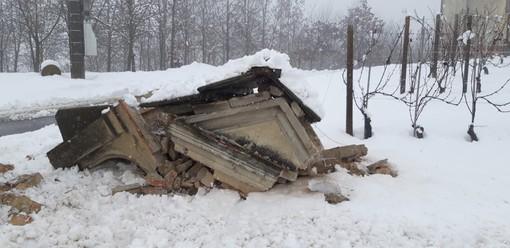 """L'appello di Italia Nostra: """"Ricostruite il pilone di Monforte distrutto da un camion"""""""