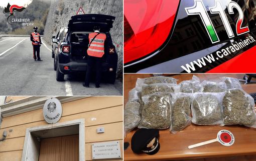 In auto 8 kg di marijuana: arrestata pensionata 63enne