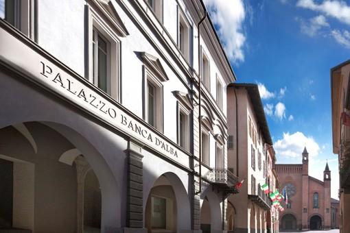 Palazzo Banca d'Alba, dove avrà luogo l'incontro del 1° ottobre