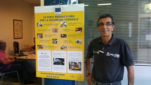 Michele Quaglia, titolare del Garage Italia di Saluzzo e dirigente nazionale  del settore meccatronica di Confartigianato