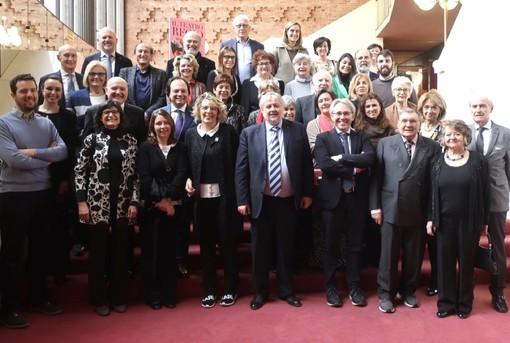Foto di gruppo per i partecipanti alla giornata torinese