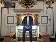 Il celebre organista britannico Philip Rushfort