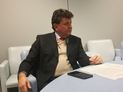 Roberto Rosso, in un'immagine d'archivio