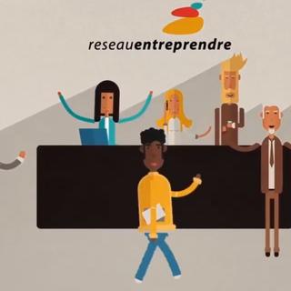 Un frame del video di presentazione del Reséau