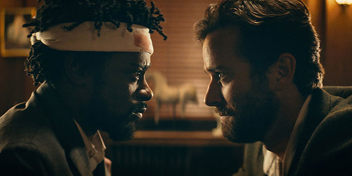 Lakeith Stanfield (a sinistra) e Armie Hammer (a destra)