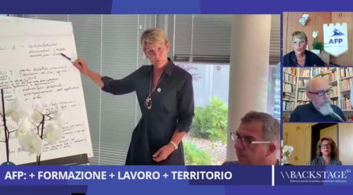 """Backstage, rivedi la puntata: """"AFP: + FORMAZIONE + LAVORO + TERRITORIO"""""""