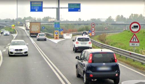 Nell'immagine la rampa di immissione per Asti (Google)