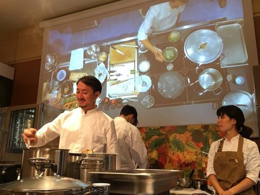 Lo chef Shimpei Moriyama