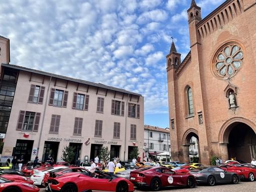 """Raduno di auto sportive: tappa ad Alba per la prima edizione della """"Targa Sobrero"""""""