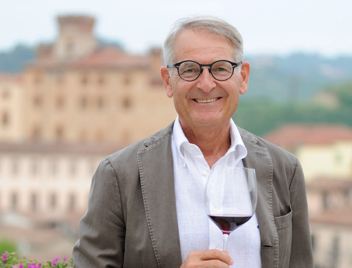 Ernestro Abbona, presidente delle storiche Cantine Marchesi di Barolo
