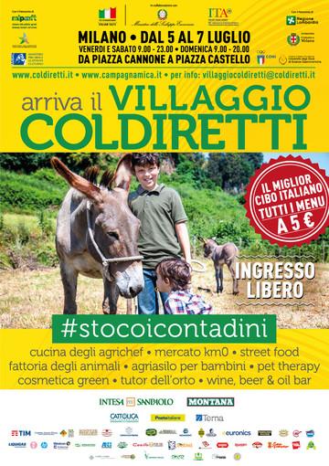 Villaggio Coldiretti a Milano: in 600 da Cuneo per dire #StoCoiContadini