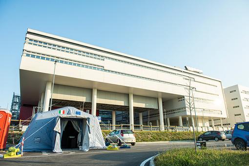 Il nuovo ospedale di Verduno (Foto Barbara Guazzone)