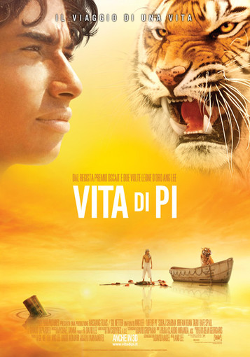 "Ultimo appuntamento con il Cinema all'aperto di Cherasco con ""Vita di Pi"""