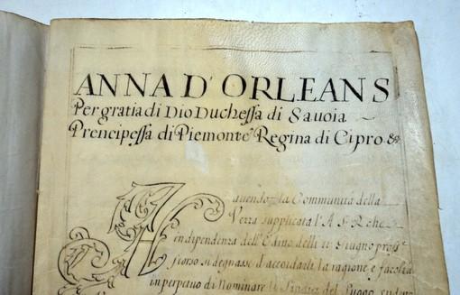 Alcuni preziosi documenti conservati nell'archivio storico del municipio roerino