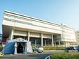 L'esterno dell'ospedale di Verduno