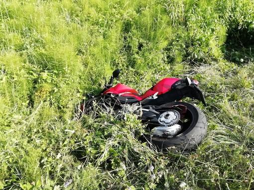 Scontro tra moto e capriolo a Murazzano: il conducente trasportato in ospedale