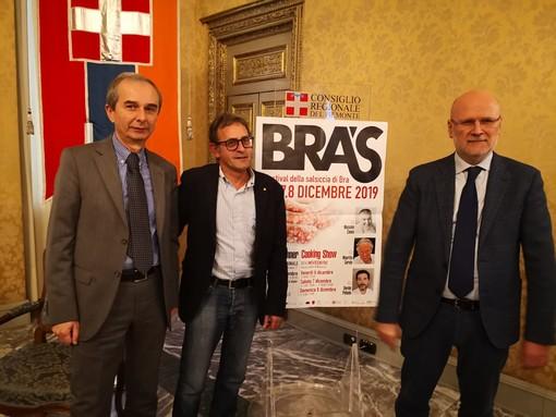 Gianni Fogliato e Luigi Barbero, qui col consigliere regionale albese Ivano Martinetti