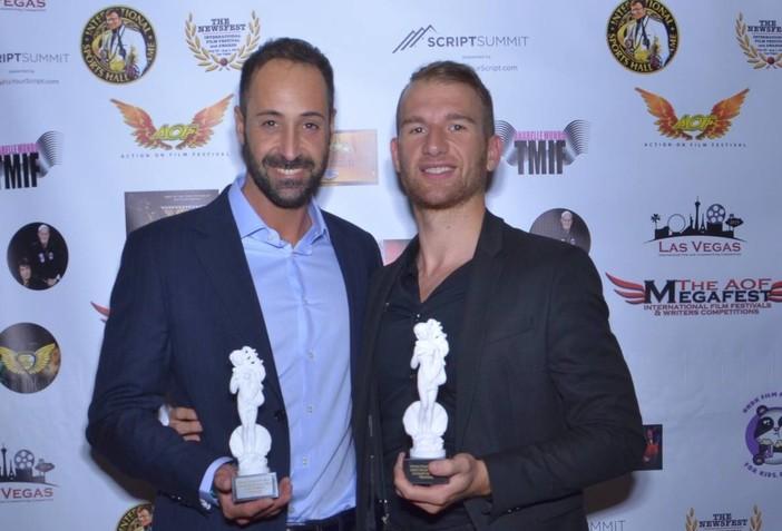 """Il braidese Andrea Barreca vince il premio come """"miglior attore"""" al Venus Italian International Film Festival di Las Vegas"""
