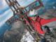 """Da Dubai alla cima del Viso in meno di 24 ore: la folle impresa di Alberto, paracadutista professionista negli Emirati innamorato del """"Re di pietra"""""""