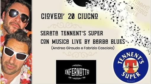 """Speciale serata di musica live all'Infernotto di Cuneo con i """"Barba Blues"""""""