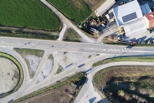 A Cherasco, in arrivo due rotonde: sulla provinciale per Savigliano e sulla statale 231 a Bricco